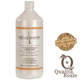 Naturalmente Orange Volumizing tuuheuttava shampoo 1000 mL