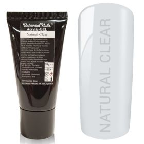 Universal Nails Acrylic-Gel UV/LED Natural Clear polygeeli 30 g