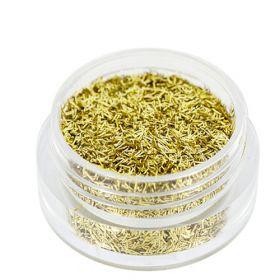 Universal Nails Säkenöivät Kultaiset glittersäikeet 1.5 g