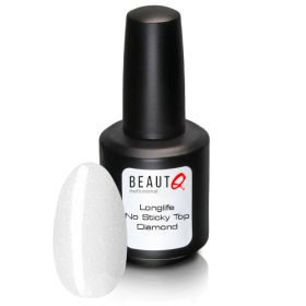 BeautQ Professional Diamond No Sticky Top Longlife Kimmeltävä päällysgeelilakka 12 mL