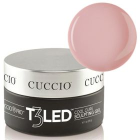 Cuccio Opaque Petal Pink T3 LED/UV Self Leveling Cool Cure geeli 28 g