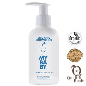 Naturalmente Breathe My Baby Organic Shower Gel Luomu vauvan suihkusaippua 150 mL