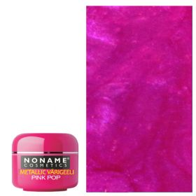 Noname Cosmetics Pink Pop Metallic UV geeli 5 g