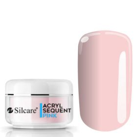 Silcare Pink Sequent Acryl Pro Pinkki akryylipuuteri 12 g
