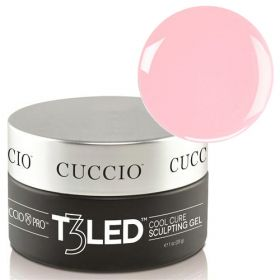 Cuccio Pink T3 LED/UV Controlled Leveling Cool Cure geeli 28 g