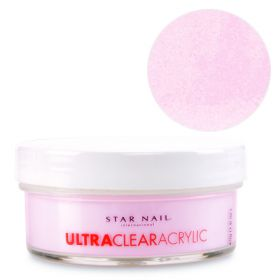 Star Nail Pinker Pink Ultra Clear akryylipuuteri 45 g