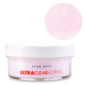 Star Nail Pinkki Ultra Clear akryylipuuteri 45 g