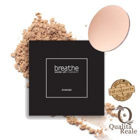 Naturalmente Breathe Make-Up Therapy Compact Powder Puuteri #01 Cream 9 g