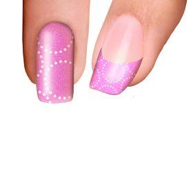 Trendy Nail Wraps Bubbalicious Pink Kynsikalvo koko kynsi