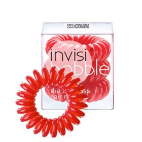 Invisibobble Rasberry Red Punaiset Invisibobble Hiuslenkit 3 kpl