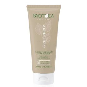 Byotea Greenergy Purifying Mask & Scrub Duet 2in1 kasvonaamio 200 mL
