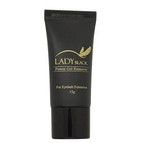 Noname Cosmetics LadyBlack Power Gel Remover Ripsiliiman poistogeeli 15 g