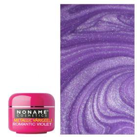 Noname Cosmetics Romantic Violet Metallic UV geeli 5 g