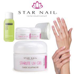 Star Nail Starlite 1-Vaihe UV-Geeli Aloituspaketti ilman uunia