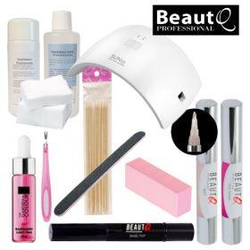 BeautQ Professional Longlife Pen Geelilakkakynä-aloituspaketti SUN 9C UV&LED-uunilla