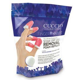 Cuccio Finger Mates Täyttö Vaahtomuovit 100 kpl