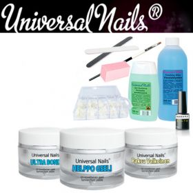 Universal Nails Helppo UV-geeli Aloituspaketti ilman uunia