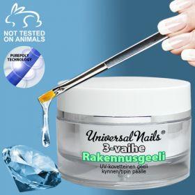 Universal Nails 3-Vaihe UV/LED rakennusgeeli 30 g