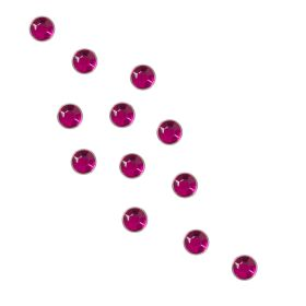 Universal Nails RhineStones Round Rose Kynsitimantit roosa 100 kpl