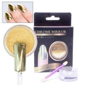 Noname Cosmetics Chrome Mirror Peilipuuteri kulta 5 g