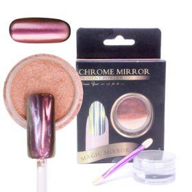 Noname Cosmetics Chrome Mirror Peilipuuteri kupari 5 g