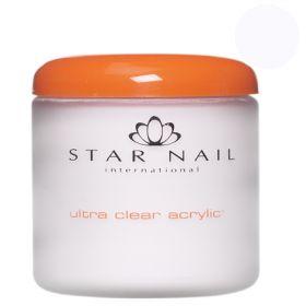 Star Nail Valkoinen Ultra Clear akryylipuuteri 161 g